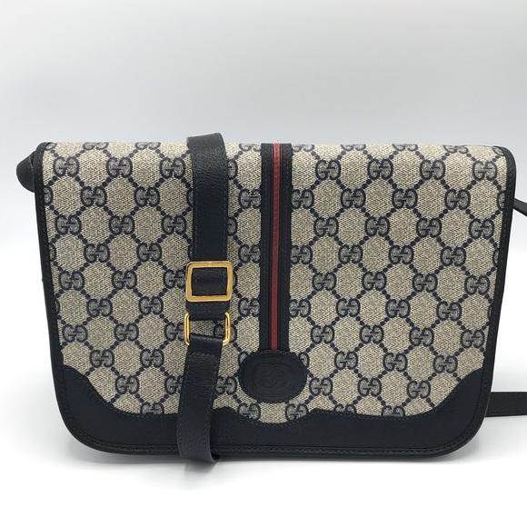 96789511c5db Gucci Bags | Authentic Supreme Canvas Messenger Bag | Poshmark